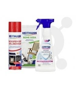 Higiena dla domu - soda do czyszczenia, mleczko, środki do czyszczenia