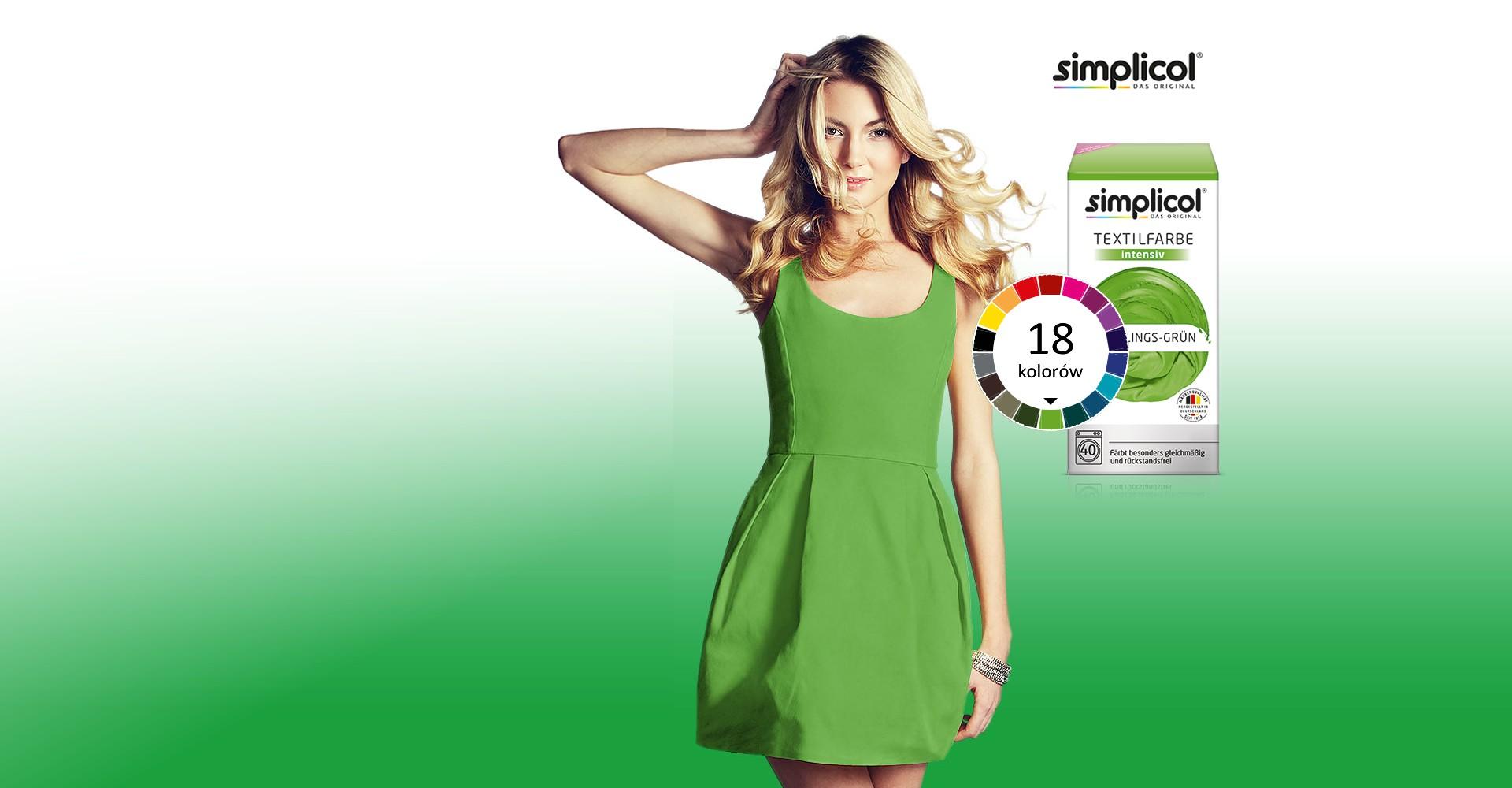 Simplicol - farbowanie łatwe jak pranie